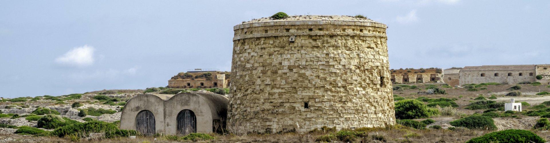 Ausflugsziel Maó / Festung La Mola