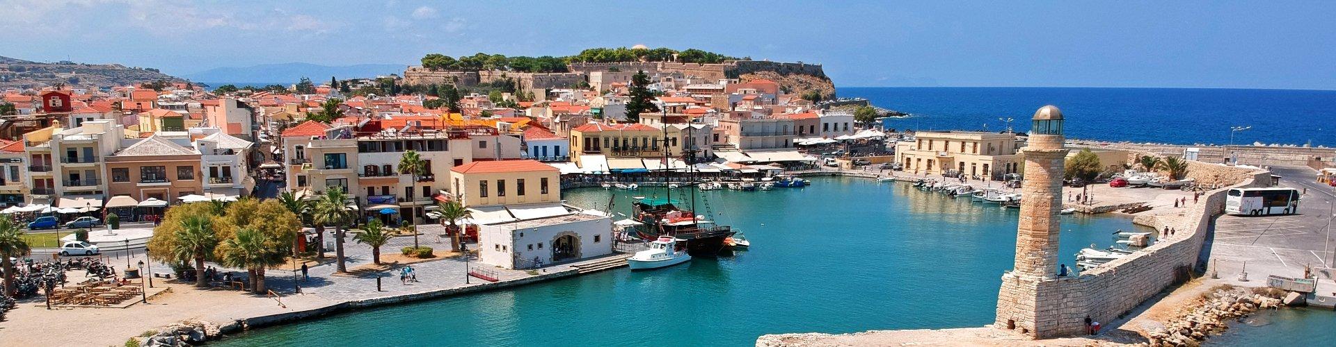 Ausflugsziel Hafenstadt Rethymnon