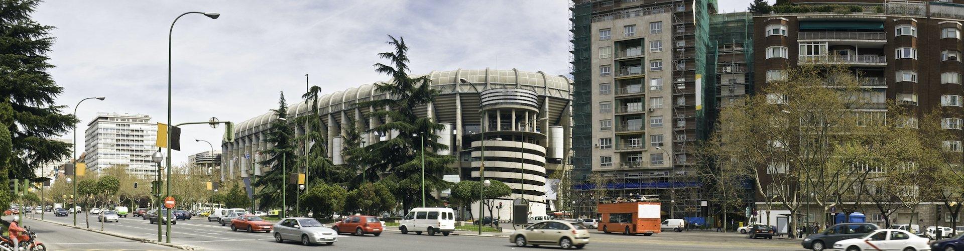Ausflugsziel Stadion Santiago Bernabéu