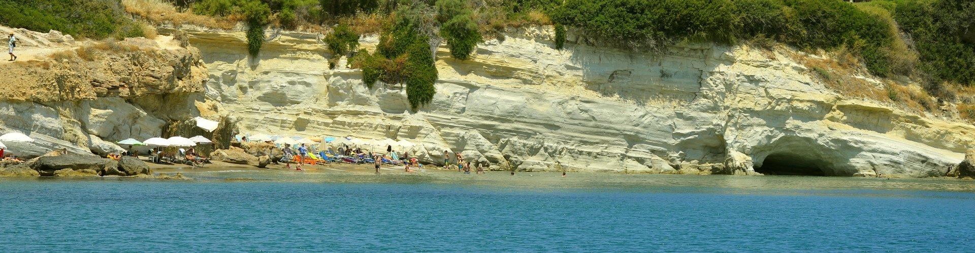 Ausflugsziel Strand von Anissaras