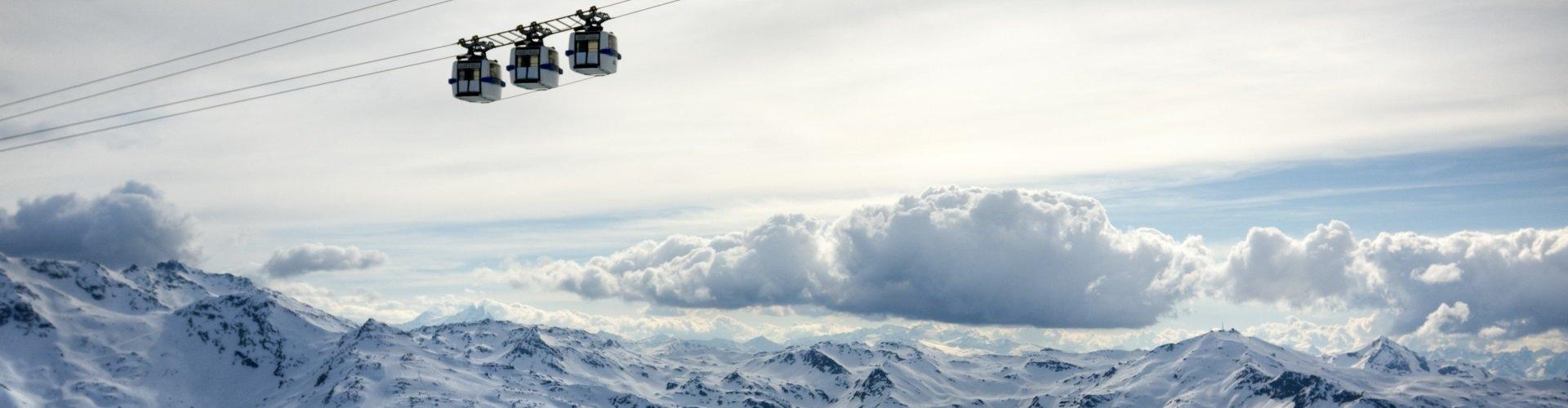 Skigebiet Les Menuires