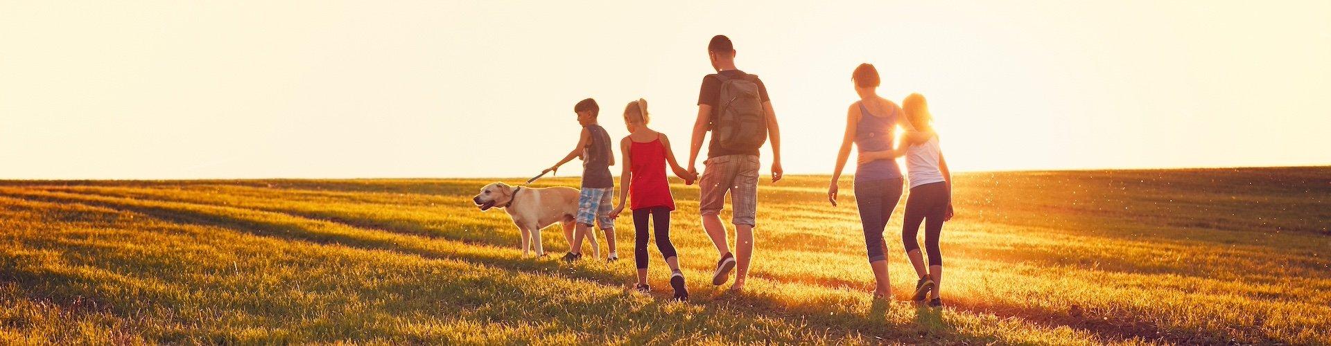 Familienurlaub mit dem Hund