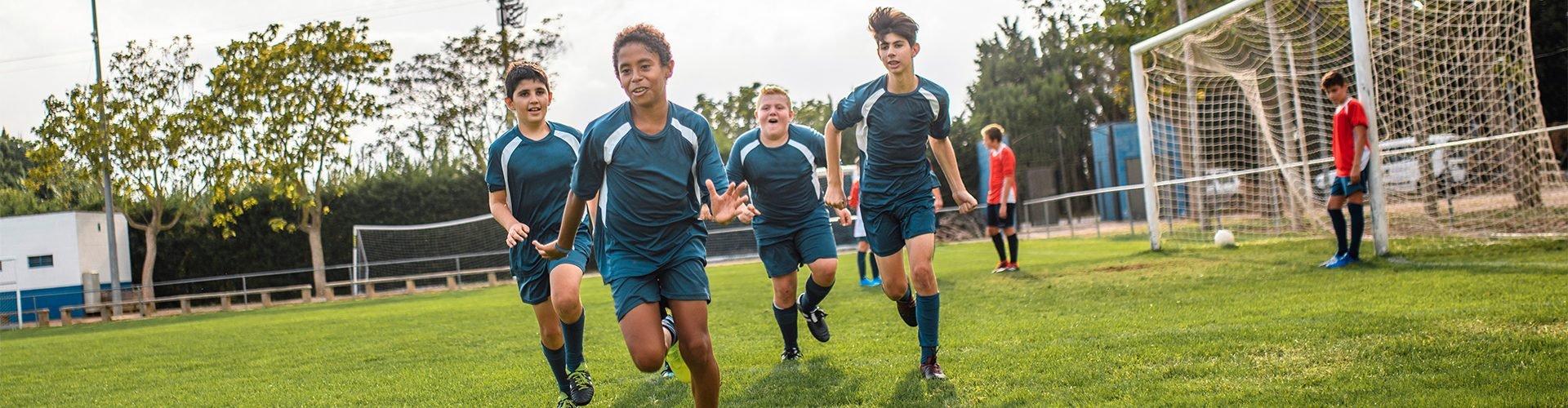 Urlaub im Familienhotel mit Fußballschule