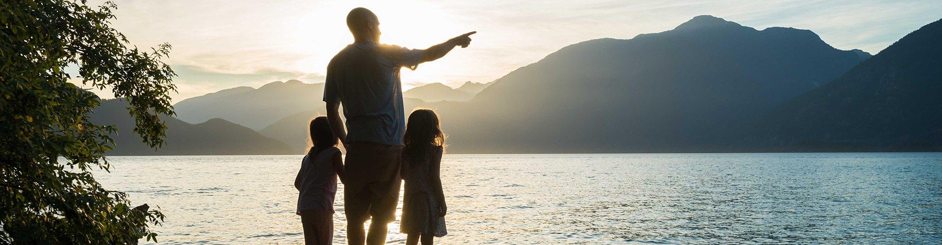 Familienurlaub am Strand oder in den Bergen?