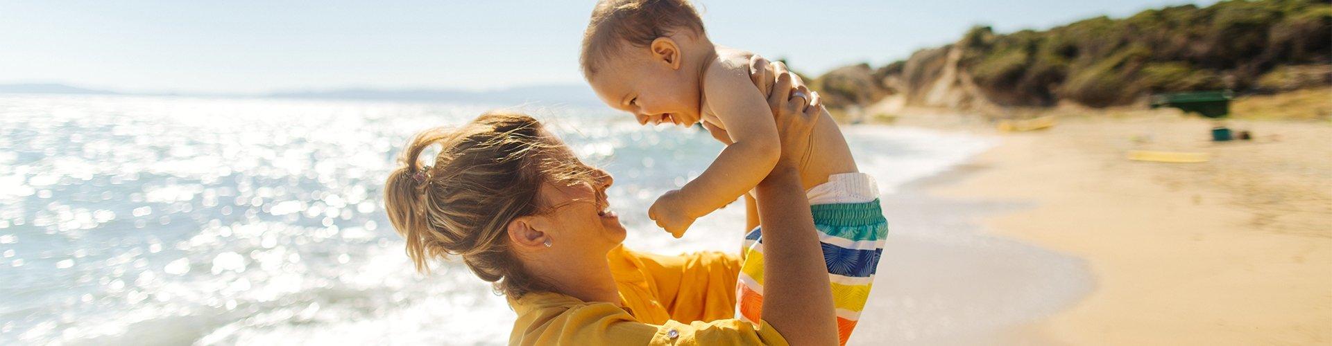 Mit Baby in den Urlaub