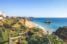Algarve Portugal Sandstrand