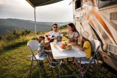 Campingurlaub mit Kindern Wohnwagen