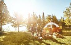 Campingurlaub mit Kindern Zelt