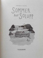 Sommer auf Solupp Kinderbuch