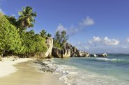 Urlaub mit Kindern am Meer Anse d'Source d'Argent