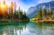 Urlaub mit Kindern in Deutschland Berge See