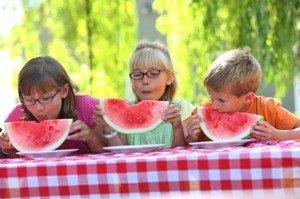 Heißer Sommer – leichtes Essen
