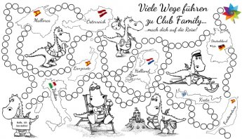 Das Club Family-Ausmalbild
