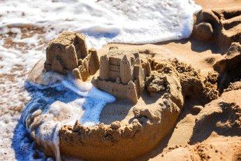 Urlaub mit Kindern am Meer Sandburg