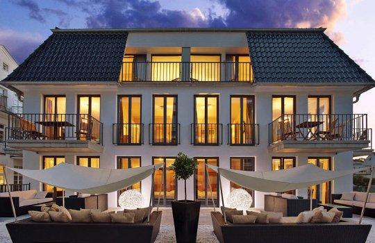 Familotel Suite Hotel Binz Außenansicht
