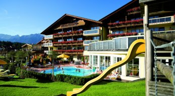 Family- & Spa-Resort Alpenpark Gartenanlage
