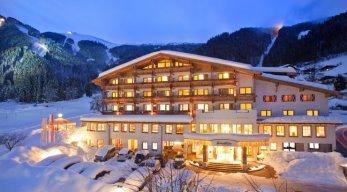 alpine resort aussenansicht winter