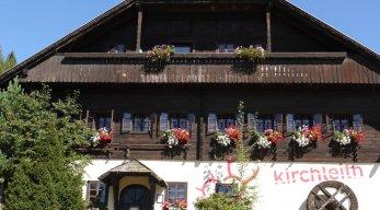 Kirchleitn Dorf Großwild Hotel Sommeransicht