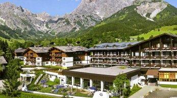 Marco Polo Alpina Familien- und Sporthotel Sommeransicht