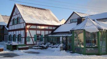 TUI KIDS CLUB Waldhotel Bächlein Außenansicht Winter