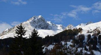 Skigebiet Davos und Klosters