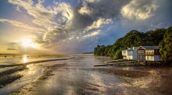 Ferienhäuser direkt am Strand