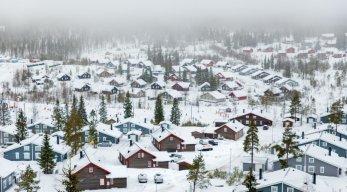 Ferienhäuser im Skigebiet