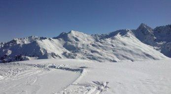 Skigebiet Pitztaler Gletscher und Rifflsee