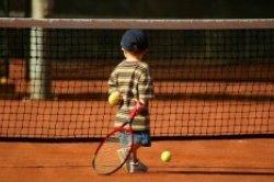 Tennis spielen im Urlaub