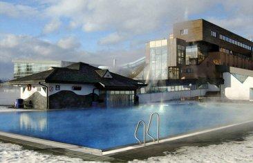 Hotel Aquacity Poprad Außenansicht