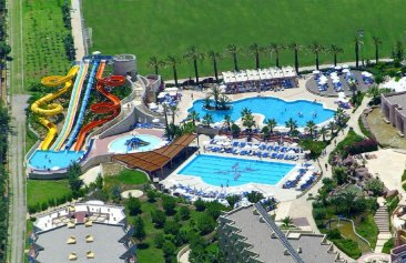 Blue Waters Club & Resort Hotelanlage