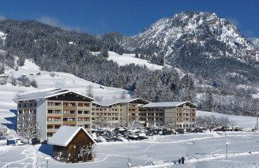 Die Gams Hotel Resort Aussenansicht