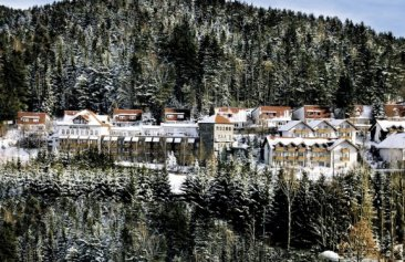 donna burghotel am hohen bogen winter