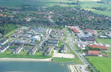 Dorf Wangerland Hotel & Pension Außenansicht