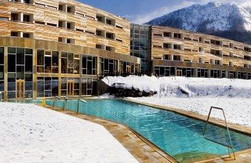 falkensteiner hotel und spa carinzia aussenansicht winter