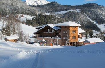 Familienhotel Unterreith Winteransicht