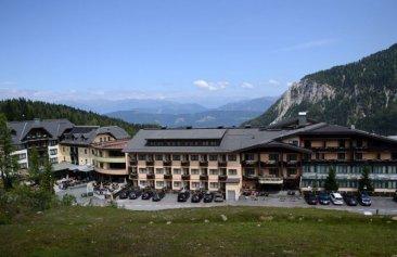 Hotel Gartnerkofel Außenansicht