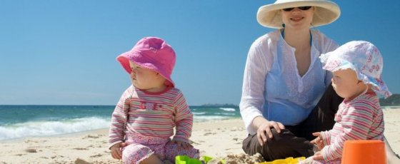 Urlaub mit kleinen Kindern